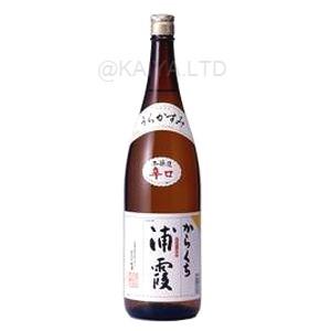 浦霞 本醸造 からくち 【1800ml】の画像