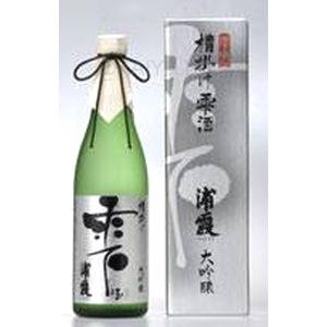 浦霞 大吟醸槽掛け雫酒 【720ml】の画像