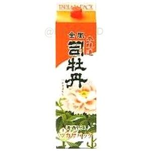 司牡丹 上撰本醸造 金凰【900ml】紙パック×6本の画像