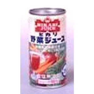 ヒカリ100%野菜ジュース/有機栽培のジュースの画像