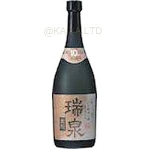 瑞泉 黒龍 泡盛 10年古酒 43度【720ml】の画像