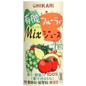 ヒカリ有機フルーティMixジュース野菜【195g】×30缶の画像