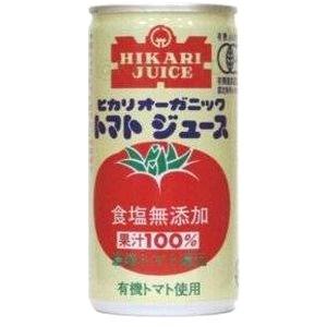 ヒカリ食塩無添加オーガニックトマトジュース60本の画像