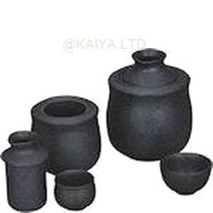湯かんセット つる付 黒水晶 (大)の画像