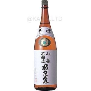 飛良泉 山廃本醸造 【1800ml】画像