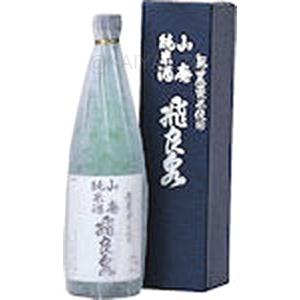 飛良泉 無農薬米 山廃純米酒【720ml】の画像