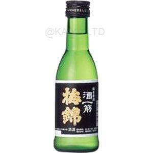 梅錦 純米吟醸原酒 酒一筋 【180ml】×1函(24本)の画像