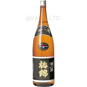 梅錦 純米吟醸原酒 酒一筋 【1800ml】の画像