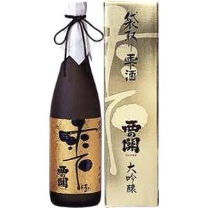 西の関 大吟醸 袋取り雫酒 【720ml】の画像