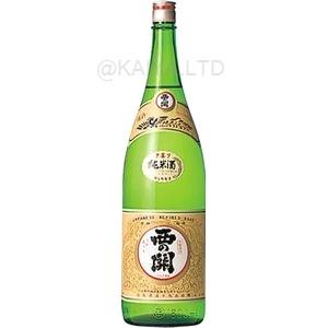 西の関 上撰手造り 純米 【1800ml】の画像