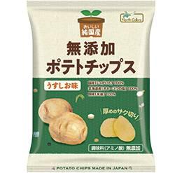 純国産ポテトチップス(うすしお) 60g/ノースカラーズ画像