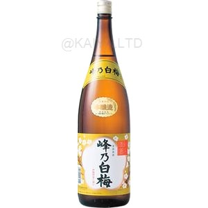 峰乃白梅 本醸造 【1800ml】の画像