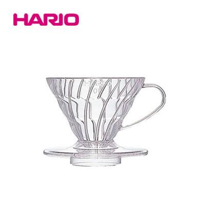 V60 透過ドリッパー01 クリア/ホワイト/レッド HARIOハリオ画像