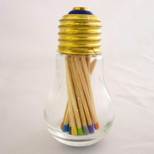電球ビンマッチ画像