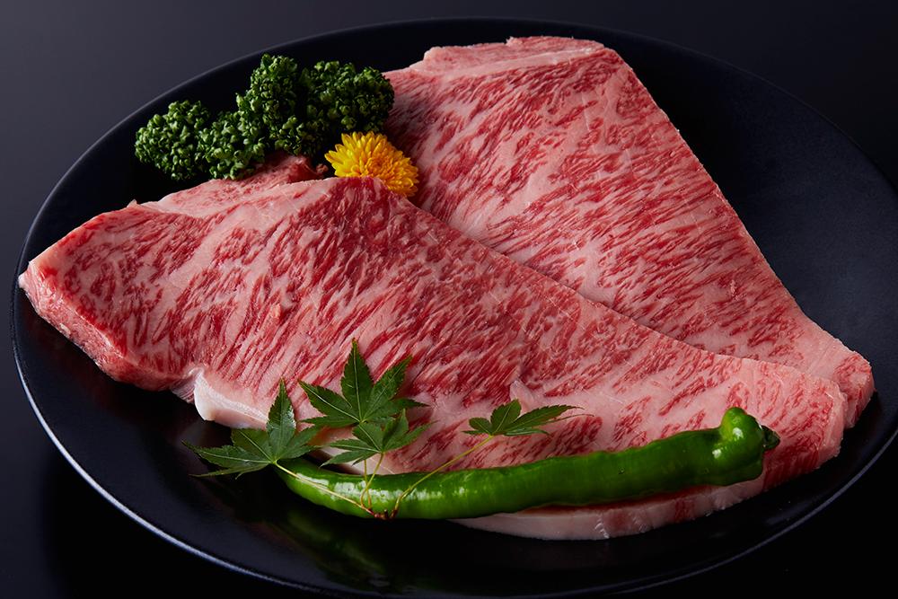 ロースステーキの画像