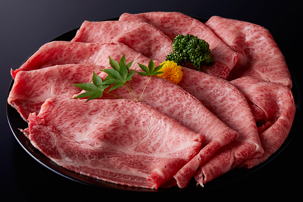 最優秀牛ロースすき焼用の画像