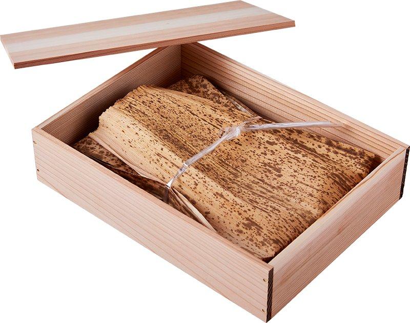 木箱ギフトボックス(木箱+包装紙)の画像