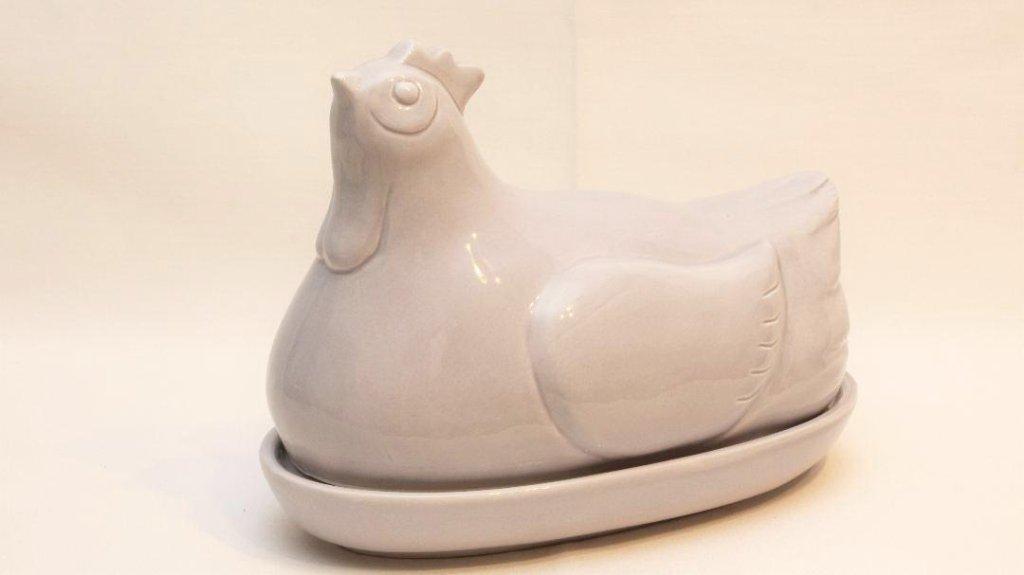 ヴィンテージ Hen-on-Nest エッグホルダーの画像