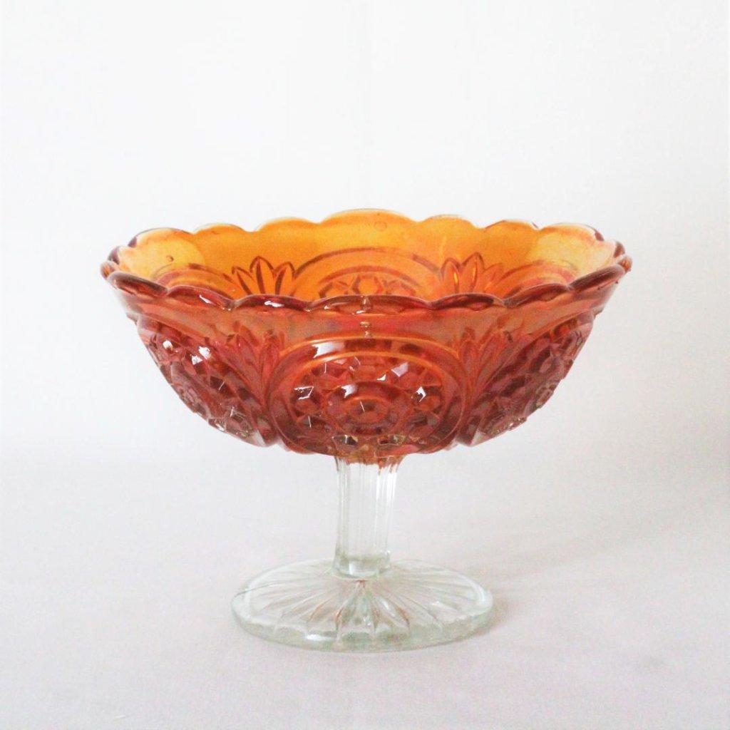 カーニバルガラス コンポートの画像