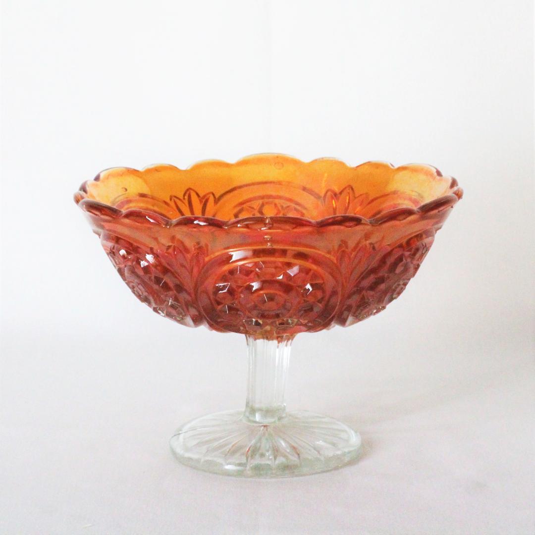 カーニバルガラス コンポート画像