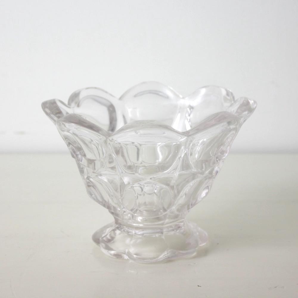 イギリス アンティーク ガラスボウル の画像