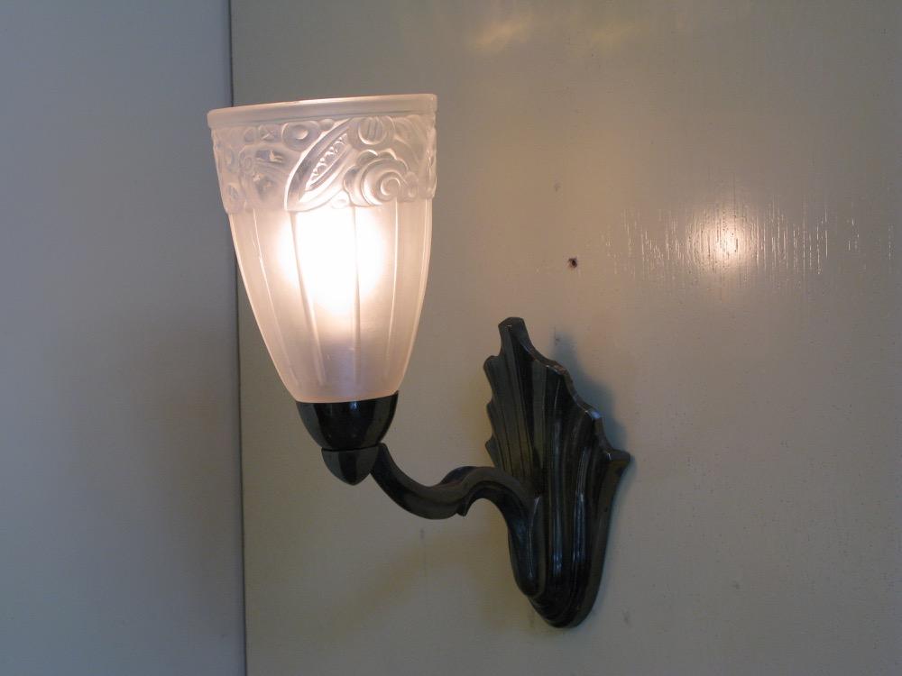 フランス アールデコ ウォールランプ画像