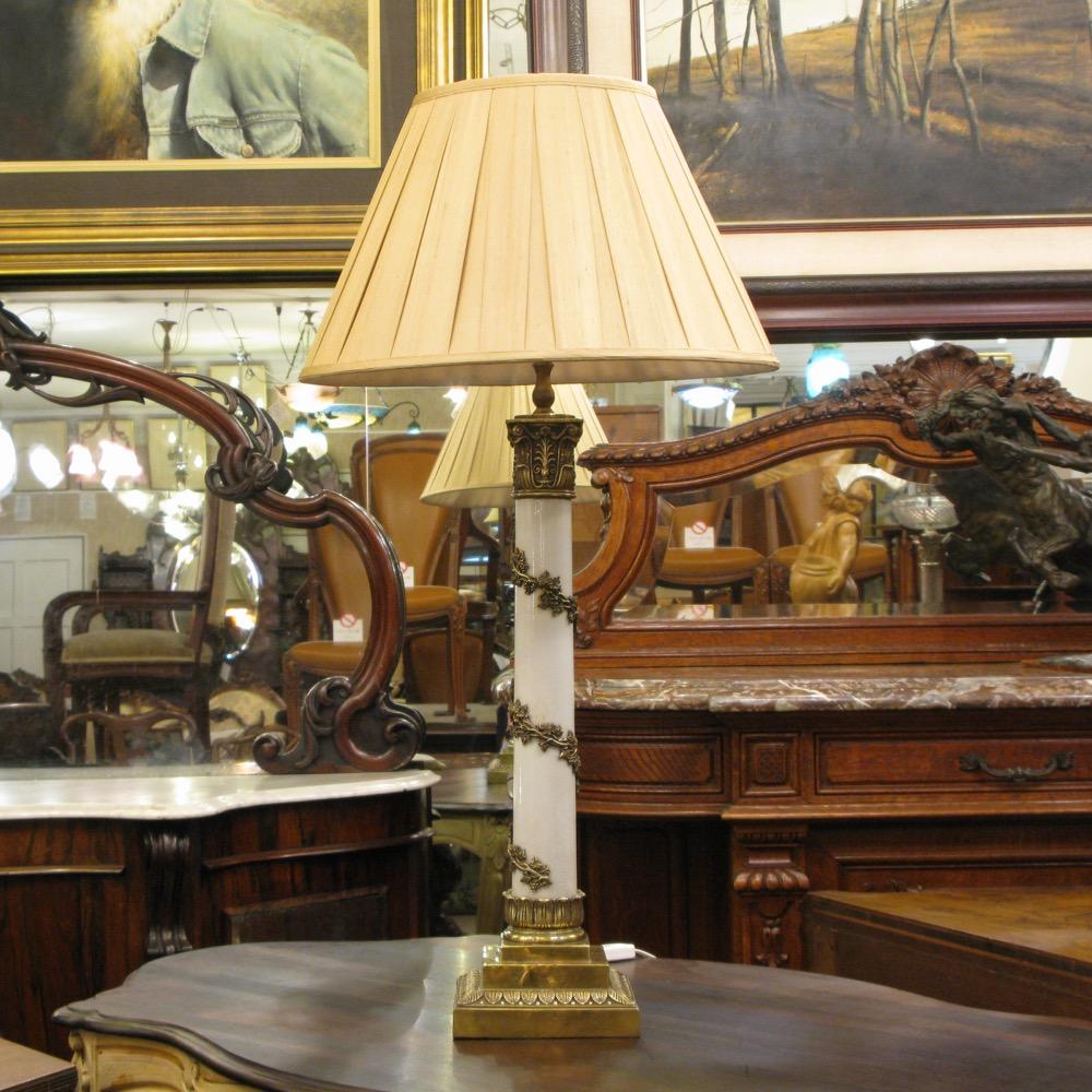 会員限定セール! フランス アンティークスタイル テーブルランプ画像