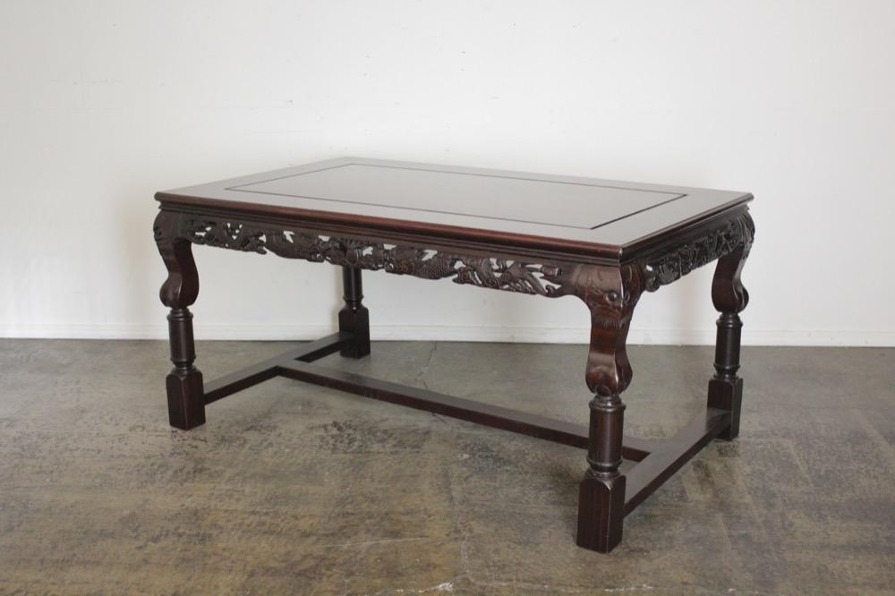 40周年記念セール! ヴィンテージ 座卓改造 ダイニングテーブルの画像