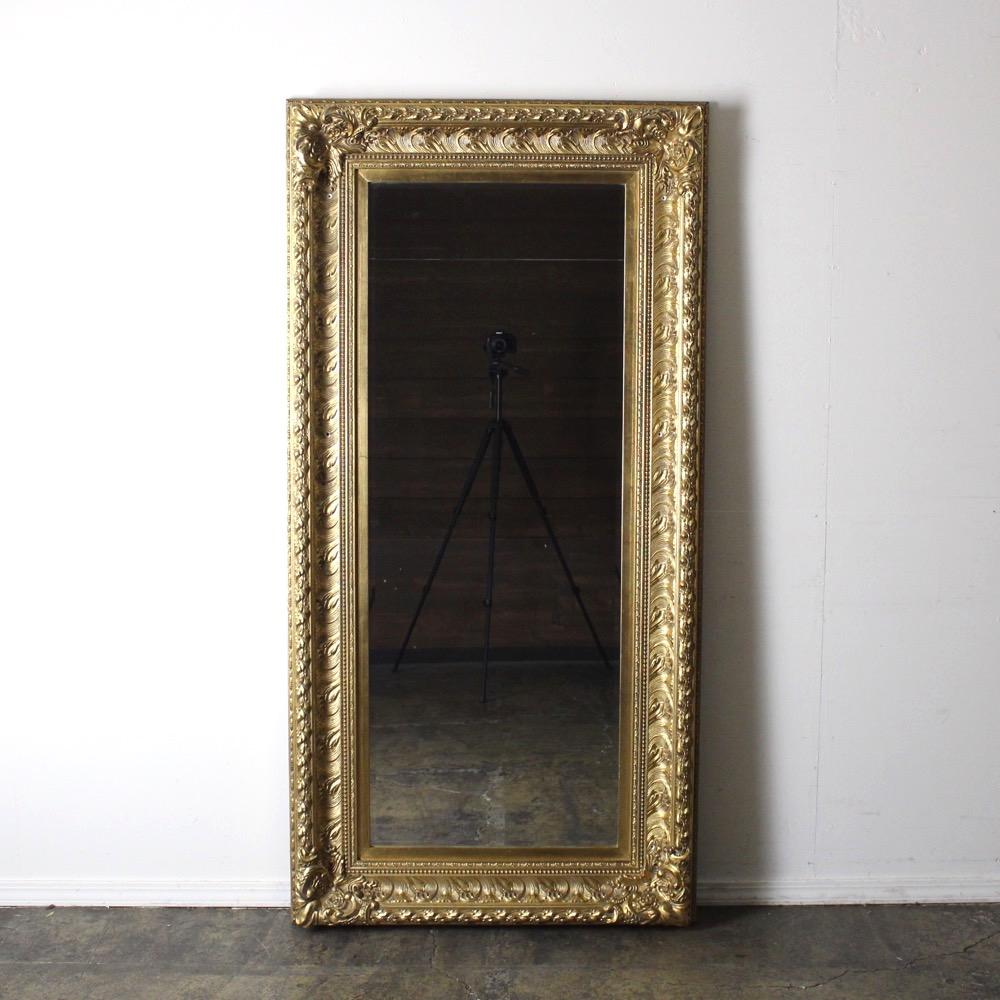 イギリス ヴィンテージ  ギルトウッド ウォールミラーの画像