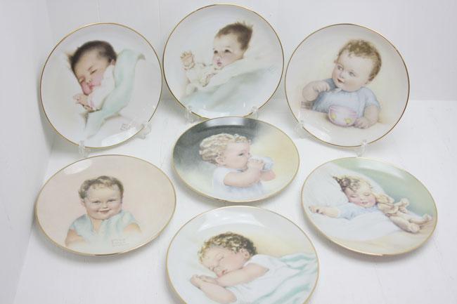 ハミルトンコレクション コレクターズプレート 7枚セットの画像