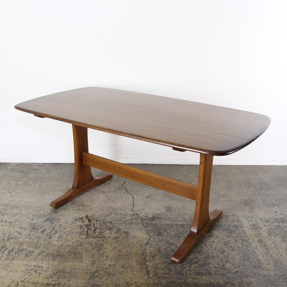 イギリス ヴィンテージ アーコール リフェクトリー テーブル画像