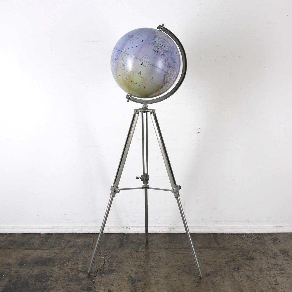 イギリス ヴィンテージ アンティークスタイル 地球儀画像