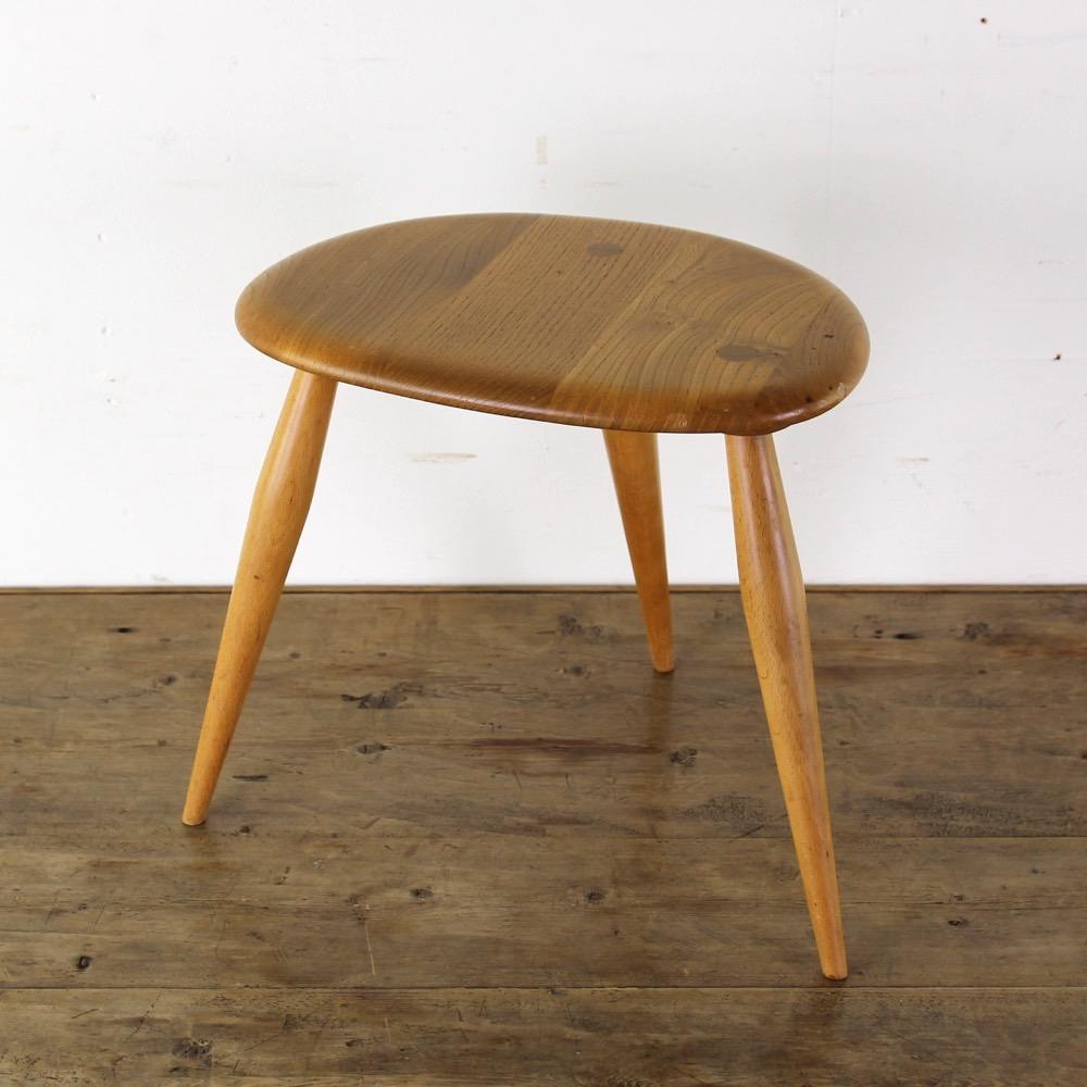イギリス ヴィンテージ アーコール スモールテーブル画像
