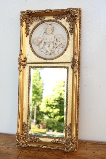 イギリス ギルトウッド ウォールミラー画像