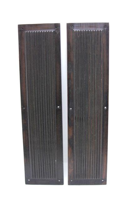 アンティーク エボニー フィンガープレートの画像