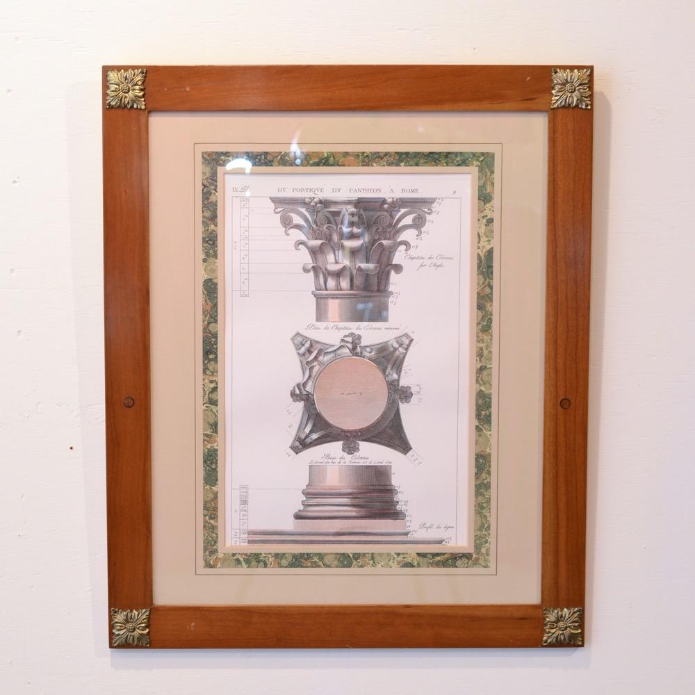 イタリア ヴィンテージ エッチングの画像