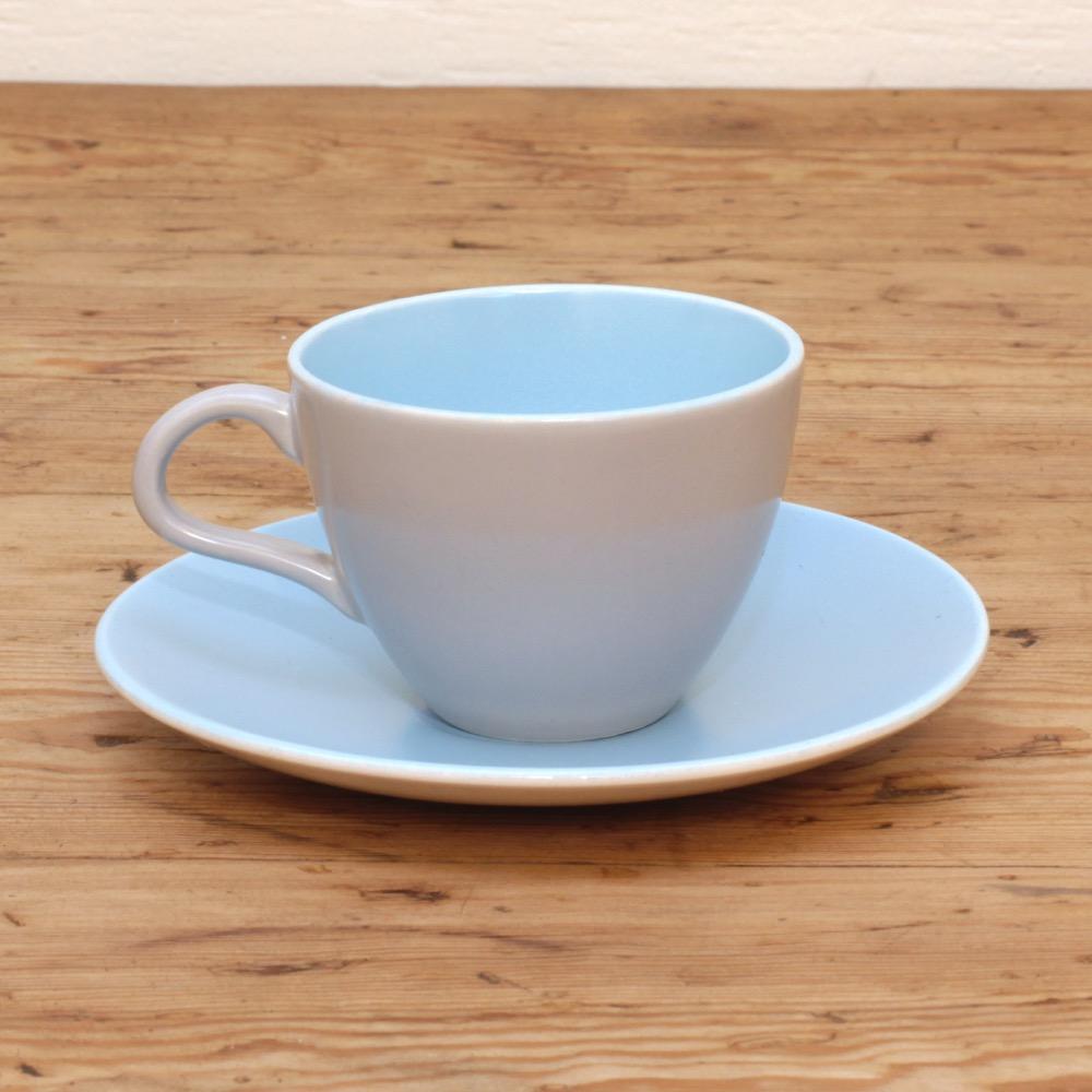 POOLE プール TWINTONE デミタスカップ&ソーサーの画像