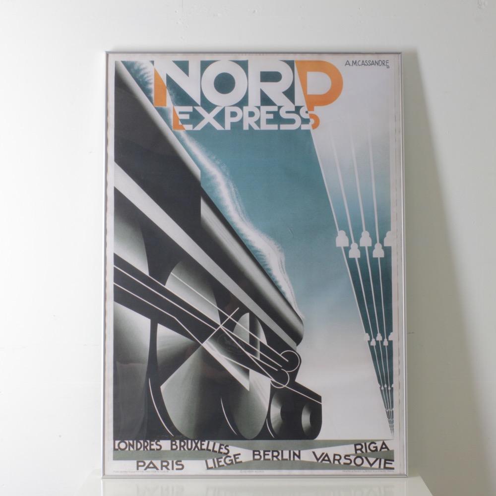 カッサンドル NORD EXPRESS ポスターの画像