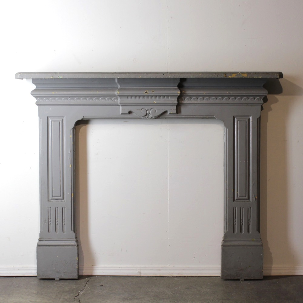 アンティーク マントルピース 暖炉画像