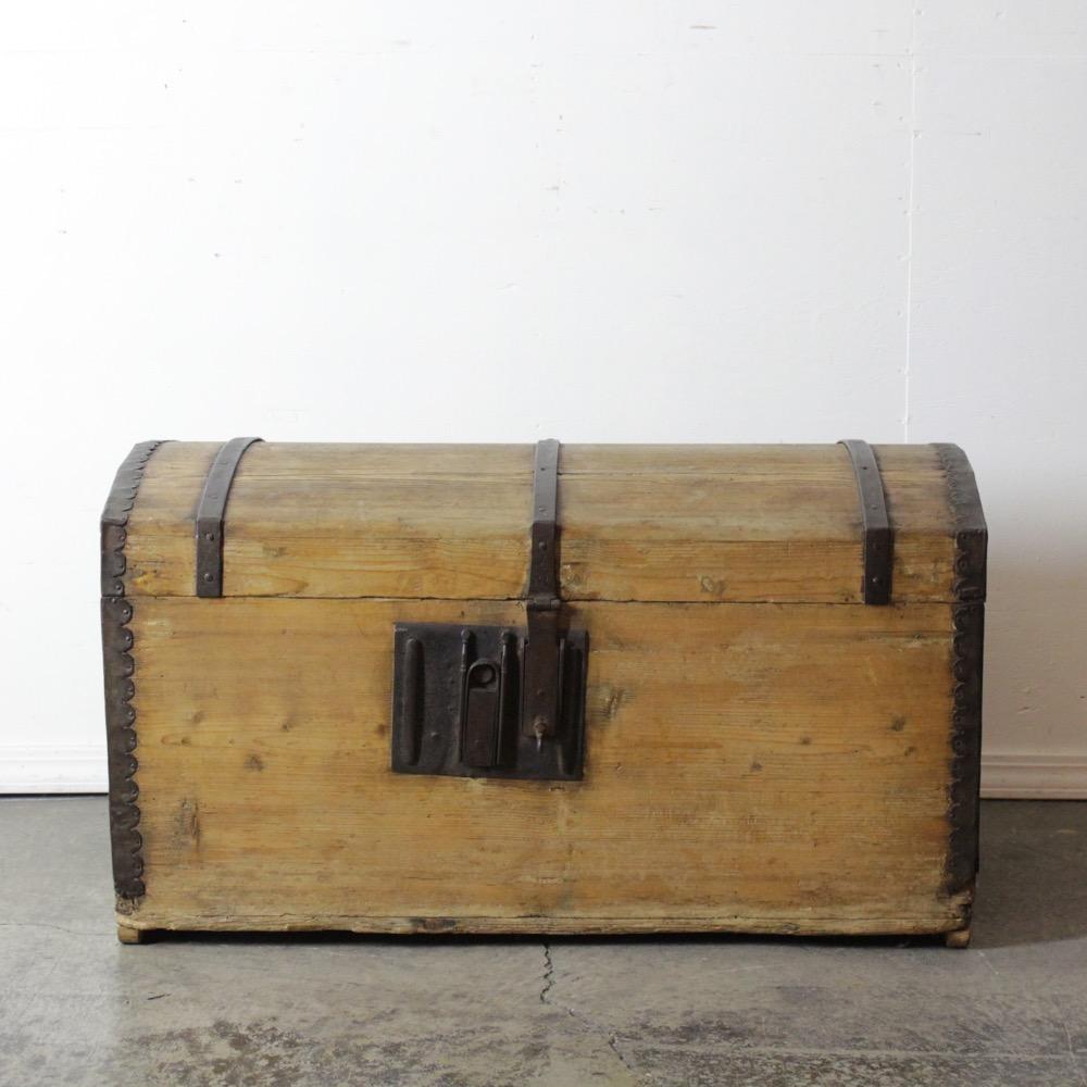 オールドパイン ブランケットボックスの画像