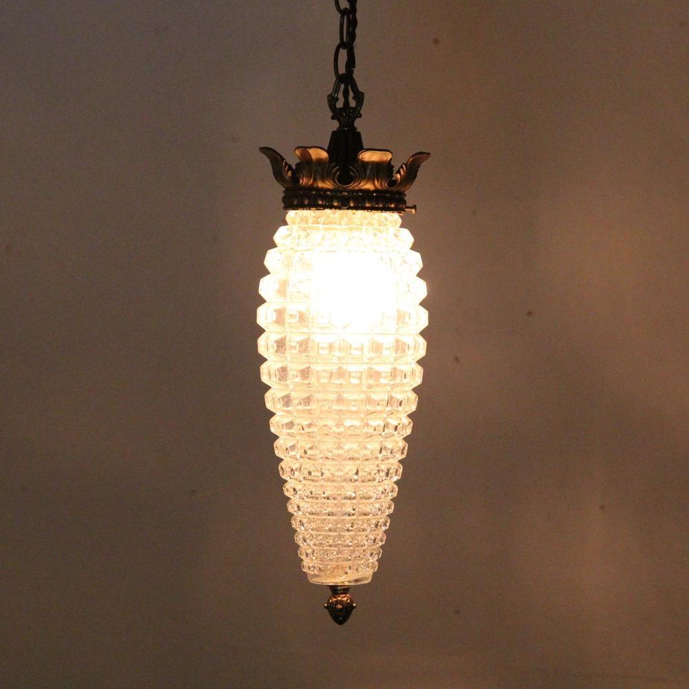 アメリカ ヴィンテージ 1灯 ハンギングランプ画像