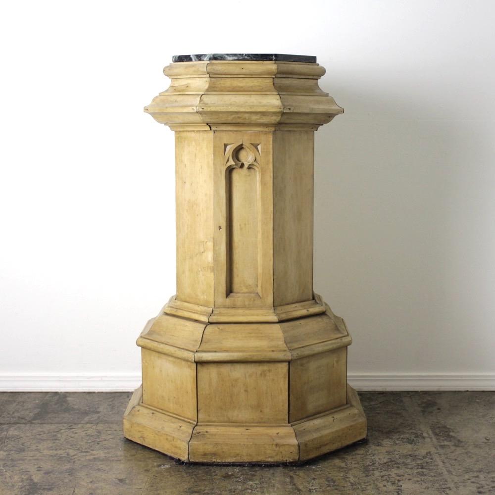 イギリス アンティーク コラム(飾り台)の画像