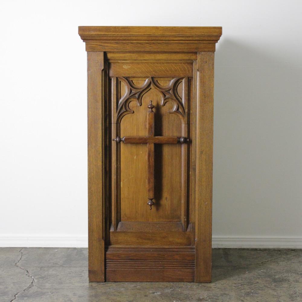 イギリス アンティーク パルピット(説教壇)画像