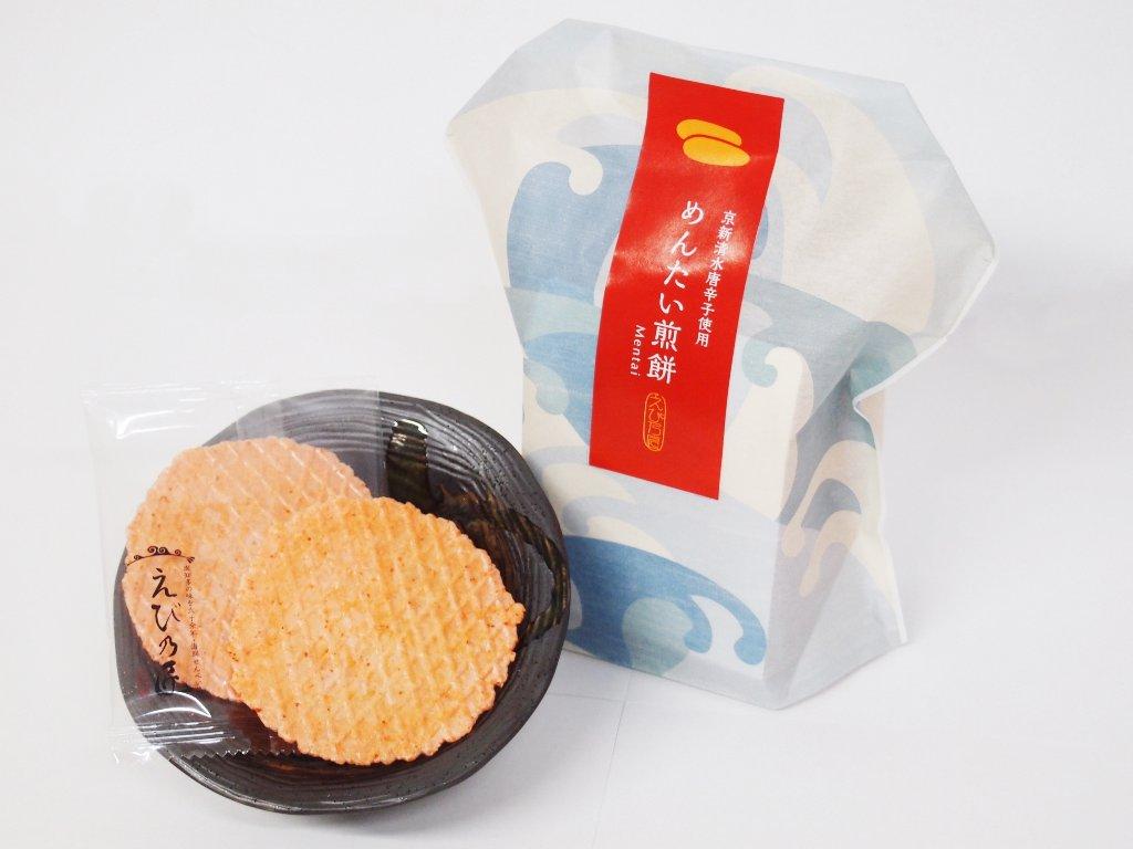 めんたい煎餅の画像