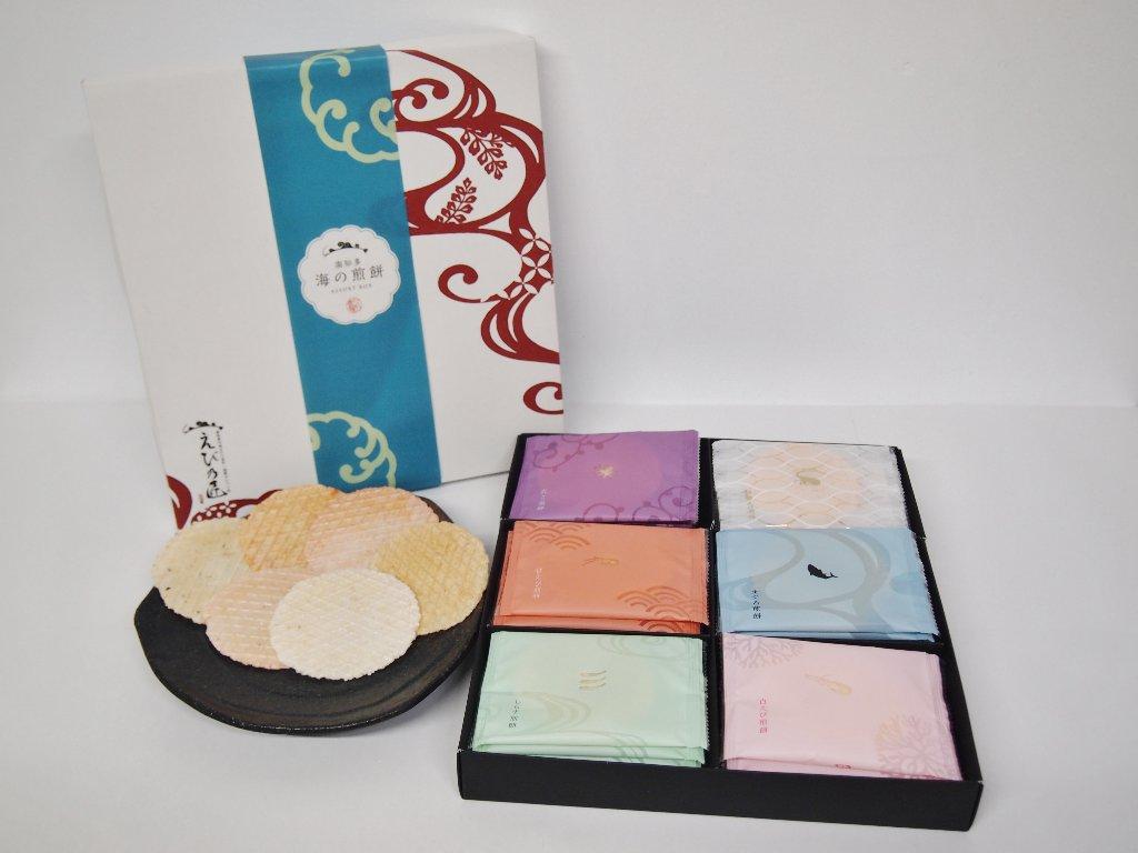 KTU2 海の煎餅ギフトの画像