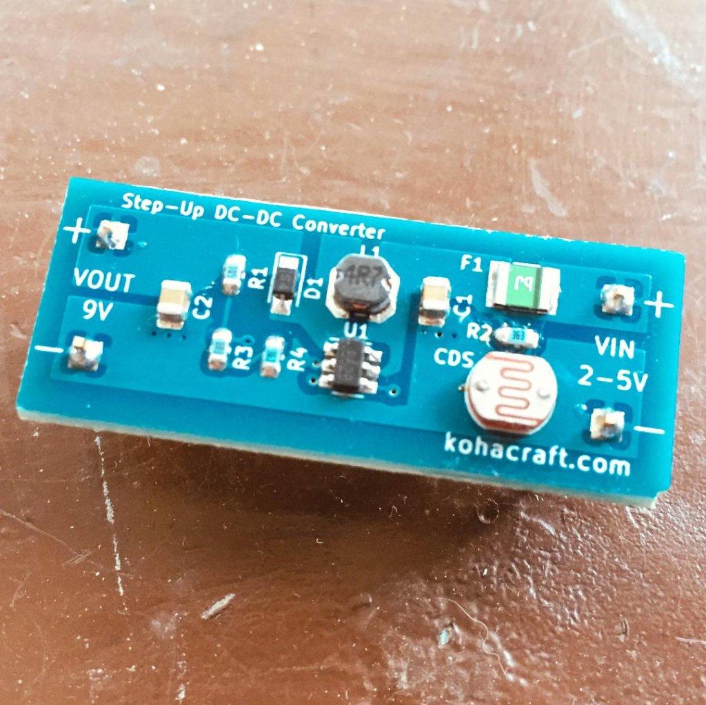 光センサー付きDCDCコンバータの画像