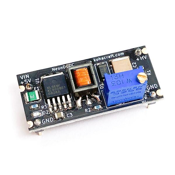 ネオン管からニキシー管用電源モジュール NeonDCDC画像