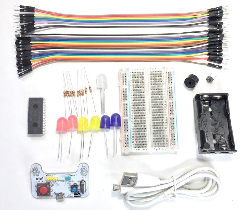 マイコンで発明しよう!実験セット(mbedマイコン入門セット)の画像