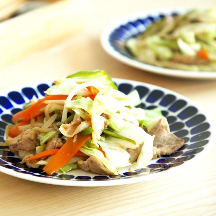 シャキッとしっかり、肉野菜炒め(2人分)画像