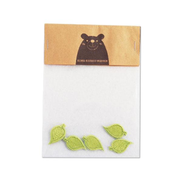 ちいさな葉っぱのワッペンの画像